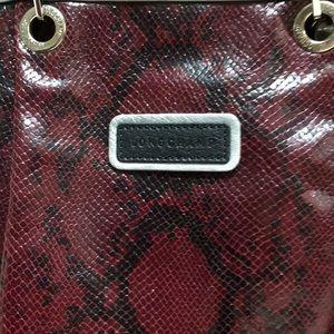 Longchamp Bags - 🆕LONGCHAMP LEATHER BURGUNDY TOTE